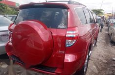 Clean Tokunbo Toyota Rav4 2010 Red