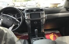 Super Clean Nigerian Used Toyota 4-Runner 2014 Silver Colour