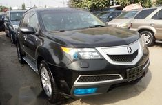 Foreign Used Acura MDX 2010 Black Colour