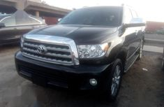 Super Clean Foreign used Toyota Sequoia 2013 Black