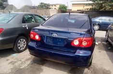 Clean Tokunbo Toyota Corolla LE 2007 Blue