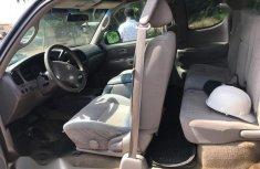 Clean Nigerian used Toyota Tundra 2004 SR5 Access Cab 4x4 Gray