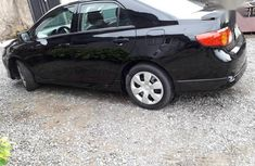 Clean Tokunbo Toyota Corolla 2009 Black