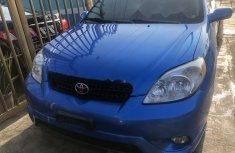 Used blue 2007 Toyota Matrix hatchback at mileage 0 for sale