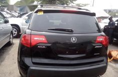 Neat Foreign used Acura MDX 2009 Black