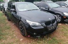 Nigerian Used Black 2008 BMW 535i
