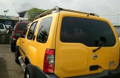 Foreign Used Nissan Xterra 2004 Yellow