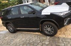 Neat Foreign used Toyota Fortuner 2018 Black
