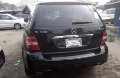 Neat Foreign used Mercedes Benz ML500 2008 Black