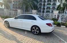 Neat Foreign used Mercedes-Benz E300 2017 White