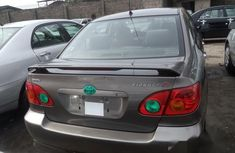 Foreign Used Toyota Corolla S 2005 Gray