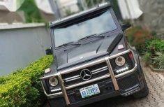 Nigerian Used 2016 Mercedes-Benz G-Class Black Colour