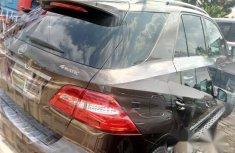 Tokunbo 2015 Mercedes-Benz M Class Brown Colour