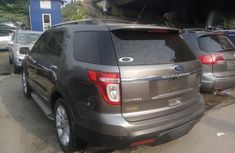 Neat Tokunbo Ford Explorer 2012 Gray