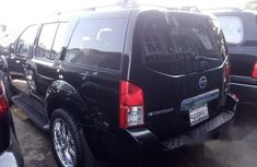 Foreign Used Nissan Pathfinder 2006 Black