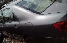 Clean Nigerian used Toyota Corolla 2007 Gray