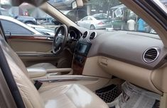 Super Clean Foreign used Mercedes-Benz M Class ML350 2008 Gold