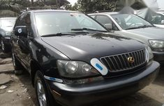 Very Clean Foreign used Lexus RX 300 2001 Black