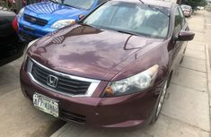 Selling 2009 Honda Accord in good condition at price ₦1,580,000 in Lagos