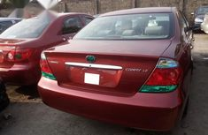 Super Clean Foreign used Toyota Camry 2005 Red