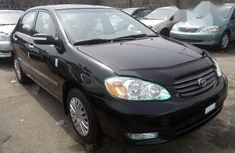 Foreign Used Toyota Corolla 2004 Black