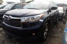 Super Clean Foreign used Toyota Highlander 2016 Blue