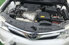 Super Clean Nigerian Used Toyota Camry 2014 White colour