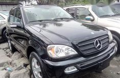 Neat Foreign used Mercedes-Benz M Class 2004 Black