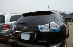 Neat Foreign used Lexus RX 2009 Black