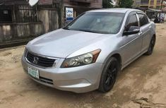 Clean Nigerian used Accord 2008 Silver