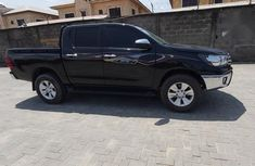 Neat Foreign used Toyota Hilux 2017 Black