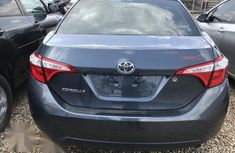 Foreign Used Toyota Corolla 2015 Black Colour