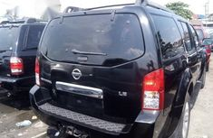 Foreign Used  Nissan Pathfinder 2007 Black Colour