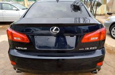 Clean Tokunbo Lexus IS 2006 250 AWD Blue