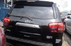 Foreign Used Toyota Sequoia Platinum 2013 Black Colour