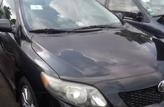 Neat Foreign used Toyota Corolla Sport 2010 Black