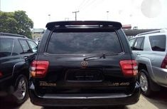 Foreign Used Toyota Sequioa 2004 Black