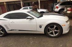 Nigerian Used White Chevrolet Camaro 2009 Model