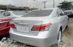 Clean Foreign used Lexus ES 350 2011 Silver