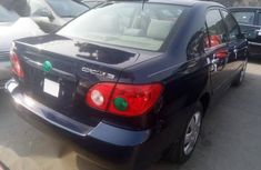 Clean Tokunbo Toyota Corolla 2007 1.6 VVT-i Blue