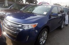Neat Foreign used Ford Edge 2013 Blue