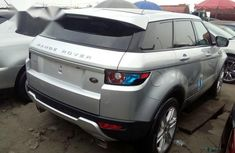 Clean Foreign used Land Rover Range Rover Evoque 2013 Silver