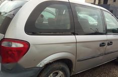 Clean Nigerian used Dodge Caravan 2002 Silver