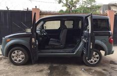 Clean Nigerian used  Honda Element 2005 LX Automatic Black