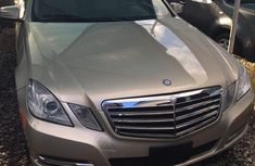 Clean Tokunbo Mercedes-Benz E350 2010 Gold