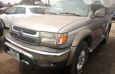 Nigerian Used 2002 Toyota 4-Runner Gold Colour