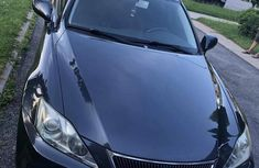 Clean Tokunbo Lexus IS 2007 250 Blue