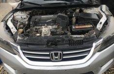 Nigerian Used Honda Accord 2013 Silver Colour