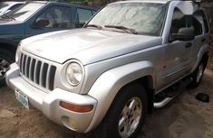 Nigerian Used 2004 Jeep Liberty Silver Colour