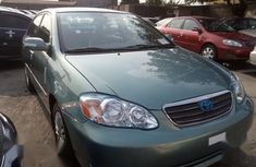Super Clean Foreign used Toyota Corolla 2007 Gray